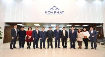 Tập đoàn Posco ngõ ý hợp tác với Hòa Phát trong lĩnh vực thép