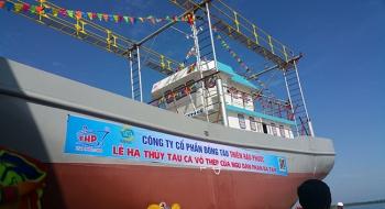Tàu đánh cá mua tại cty thép đóng tàu Thiên Hậu phước nay đã có lãi