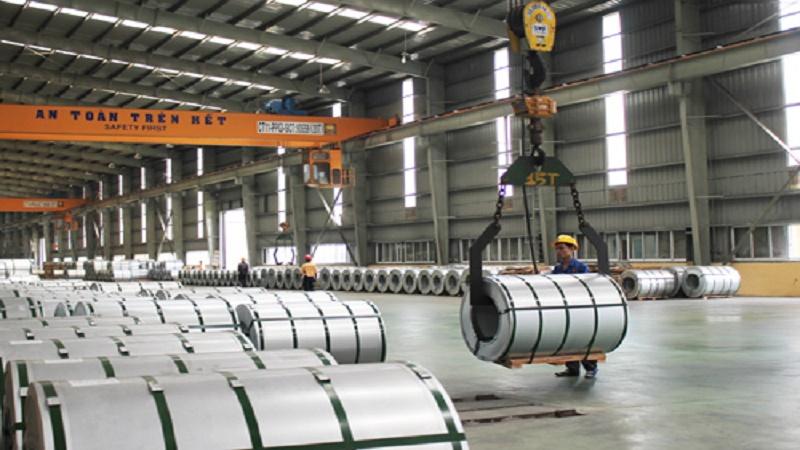 Tình hình xuất khẩu thép Việt trong 2 tháng đầu năm 2018
